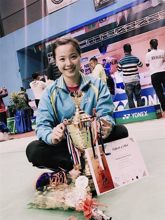Tay vợt Việt Nam vô địch giải cầu lông quốc tế Nepal