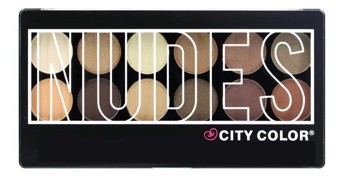 NUDES EYE SHADOW PALETTE – CITY COLOR